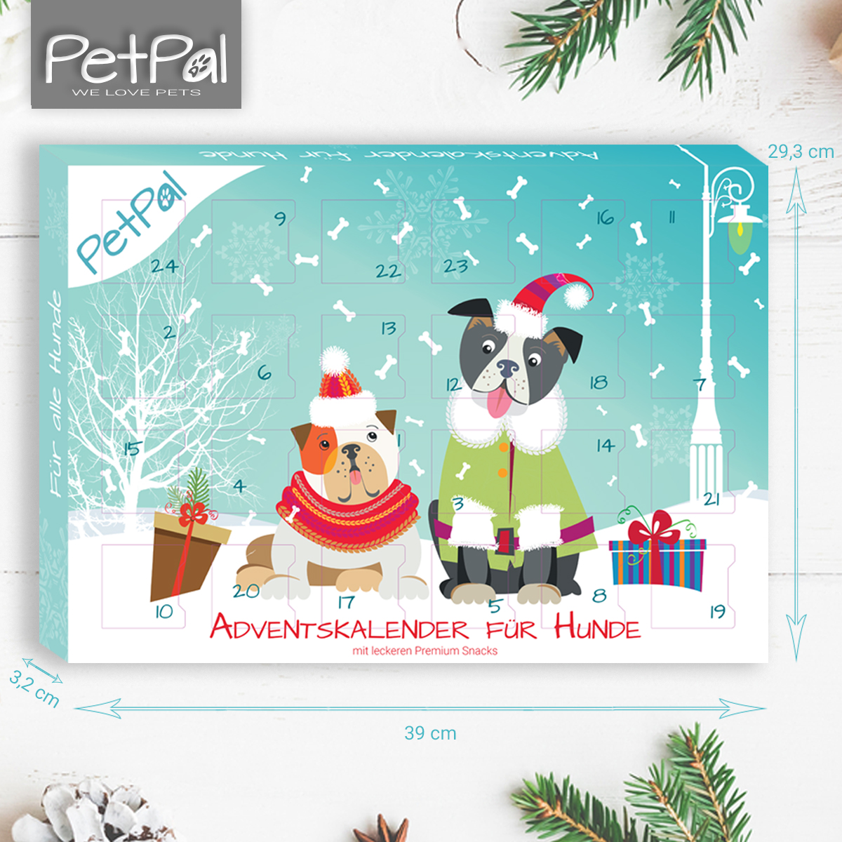 adventskalender f r hunde 2017 petp l. Black Bedroom Furniture Sets. Home Design Ideas